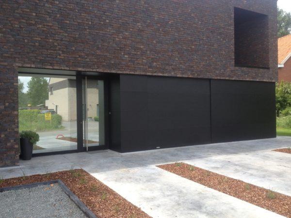 Sima Voordeur volledig glas en zijdelings paneel