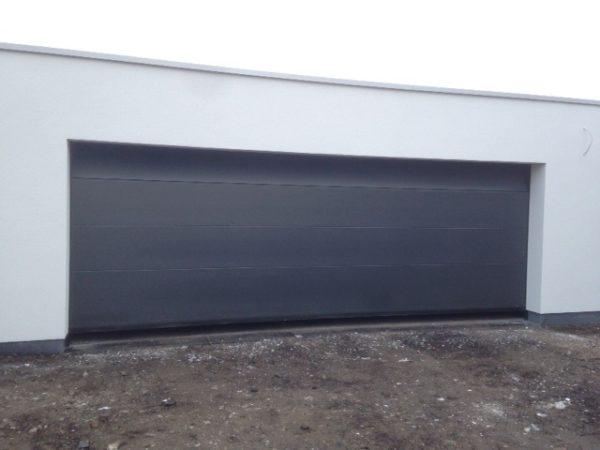 Sima Volledige Vlak sectionaal poort met een breedte van 5 meter
