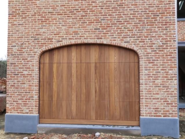 houten sectionaalpoort