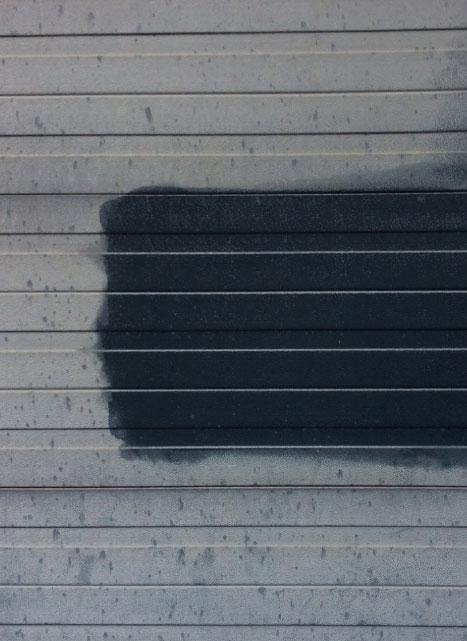 kleur garagepoort herstellen